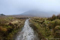 Road to the rain (Nelleke C) Tags: 2017 achillisland countymayo keel heathland heide holiday ierland ireland landscape landschap moor vakantie