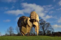 2017 12 26 001 Yorkshire Sculpture Park (Mark Baker.) Tags: 2017 baker december eu europe mark bretton britain british day england english european gb great kingdom outdoor park photo photograph picsmark rural sculpture uk union united wakefield west winter yorkshire