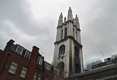 St Michael Cornhill (Dun.can) Tags: ec3 cityoflondon city london stmichael cornhill church hawksmoor 17thcentury tower