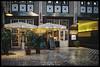 Hackesche Höfe (Krueger_Martin) Tags: architecture architektur hackeschehöfe hof hinterhof berlin festbrennweite primelense weitwinkel wideangle fujifilm finepix x100 hdr photomatix night nacht light lights licht restaurant reflex reflections spiegelung rain regen stadt city urban colorful bunt farbig oxymoron