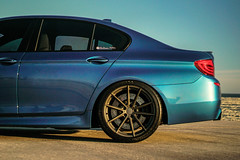 BMW F10 M5 on TSW Bathurst rotary forged wheels - 17 (tswalloywheels1) Tags: blue bmw f10 m5 5series lowered coilvers hr staggered concave 20x9 20x105 rotary forged flow form aftermarket wheels wheel rim rims alloy alloys tsw bathurst