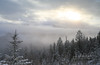 Time in Winter Fog (Karl Outdoor Photography) Tags: trees boreal winter kootenayhwy canada photography mountains radium fog newreleases britishcolumbia westernlandscapes snow