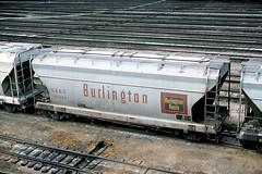 CB&Q Class LO-7 184306 (Chuck Zeiler) Tags: cbq class lo7 184306 burlington railroad covered hopper freight car cicero train chuckzeiler chz
