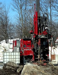 Foreuse - Drilling machine (Jacques Trempe 3,160K hits - Merci-Thanks) Tags: stefoy quebec canada foreuse drilling machine equipement construction explorasol