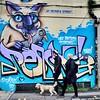 Walking the dog (Janardan das) Tags: streetart unlimitedphotos nikkor brighton nikon spraypaintart art murals dogwalker walkingthedog graffiti