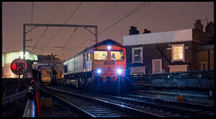 66562 (saltley1212) Tags: freightliner class66 665 66562 4l43 hawley arms camden london