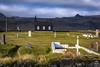 The Little Black Church   Iceland (kenneth chin) Tags: nikon d810 nikkor 2470f28g church búõakirkja snæfellsnes iceland cloud grass mountain waterfall