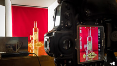learning the trade (grahamrobb888) Tags: horinca red setup panasonic panasonictz60 tz60 dmctz60 booze