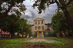 The house (Sotiris Papadimas) Tags: house oldhouse building abandoned city urban trees garden yard athens greece plaka