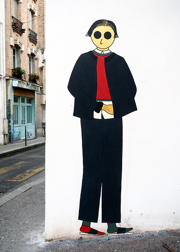 Pasted paper by Kam & Laurene [Paris 20e]