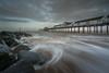 Swoosh (Photo Lab by Ross Farnham) Tags: southwold ocean leefilters motion drama sony a7rii 1635mm zeiss landscape pier rossfarnham rocks uk coastline