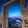 Mirador Porta do Ceo (David Castro Rodriguez) Tags: arco pedra piedra sunset sun night clouds portugal baixomiño rio miño nikon nikkor blue magenta river