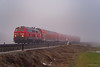 DB REGIO - IMMENSTADT (Giovanni Grasso 71) Tags: db regio br218 immenstadt giovanni grasso nebbia luce nikon d610