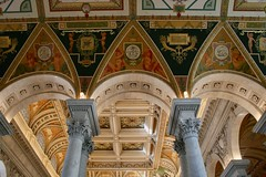 Library of Congress (Marianna Gabrielyan) Tags: library congress washington dc columns architecture