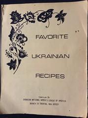 (EX22218 - ON/OFF) Tags: ukraine cookbook recipes ukraniannationalwomensleagueofamerica branch19 trenton newjersey appetizers soups relishes entrees desserts christmas easter ukranian