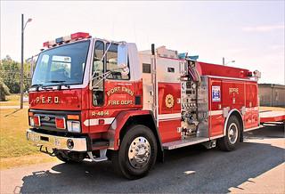Port Ewen Fire Department Rescue 1