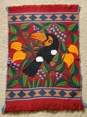 Maya Embroidery Chiapas Mexico Toucan (Teyacapan) Tags: tucan toucan birds embroidery fabrics textiles maya mexican chiapas zinacantan pajaro