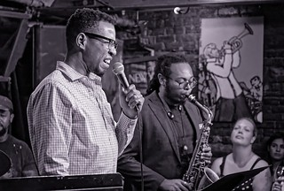 Milton Suggs with the Jonathan Miguel Group @ Smalls