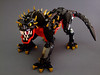 The Chulkaa Spinebeast (Djokson) Tags: lego bionicle moc toy model djokson beast lizard dog spines fanttasy creature monster dragon black red gold yellow spikes claws fangs