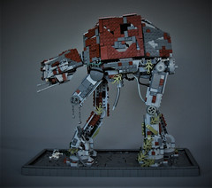 Abandoned old AT-AT (adde51) Tags: adde51 lego moc starwars atat rust old abandoned walker rusted decay overgrown