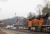 Clear, Main One East (nrvtrains) Tags: christiansburgdistrict cambriast christiansburg cambria overcast bnsf manifest norfolksouthern 188 virginia unitedstates us