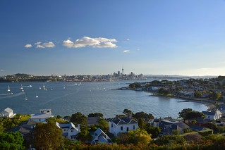 Sunny Day in the City - Auckland / New Zealand