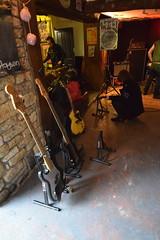 DSC_0006 (richardclarkephotos) Tags: tim bish joey luca © richard clarke photos derellas three horseshoes bradford avon wiltshire uk lone sharks guitar bass drums guitarist drummer bassist band bands live music punk