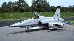K-3056 ex (Gert-Jan Vis) Tags: k3056 3056 klu koninklijkeluchtmacht royalnetherlandsairforce northrop nf5a f5 freedomfighter kodachrome