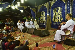 Sheikh Mahmoud El Tohamy performs invocations. (Haleem Elsha3rani حليم الشعراني) Tags: cairo egypt sufi religion religious northafrica africa middleeast middleeastern muslim islam music mosque dancing amusment