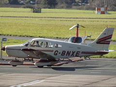 G-BNXE Piper Cherokee Warrior II 28 Private (Aircaft @ Gloucestershire Airport By James) Tags: gloucestershire airport gbnxe piper cherokee warrior ii 28 private egbj james lloyds