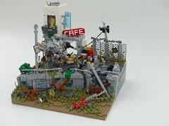 On Patrol (robbadopdop) Tags: lego moc mecha mech military landscpae scifi apocalypse city war drone