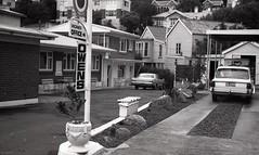 Owens Motel, George Street, c1970s (Dunedin City Council Archives) Tags: dunedin motels accomodation holidays 1970s