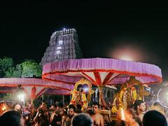 Varadharaja Perumal temple procession. (Prabhu B Doss) Tags: prabhubdoss varadharajaperumaltemple kanchipuram temple tamilnadu india temples rituals procession god statue