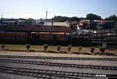 3385 G50 passenger train Claisebrook 29 December 1982 (RailWA) Tags: railwa philmelling westrail 1982 g50 passenger train claisebrook 29 december