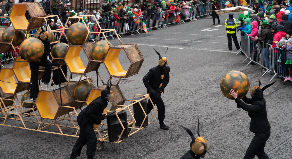 INSECTOPIA BY SPAORI [DUBLIN PARADE 17 MARCH 2018]-137724