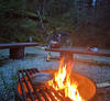 All's well that ends well (pnwrovr) Tags: camping bikepacking biketouring cyclotouring steelbikes campfire cycling sookepotholes sooke victoria bc trailriding trails gallopinggoose yyj bikepacks