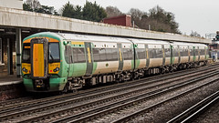 377108 (JOHN BRACE) Tags: 2002 bombardier derby built electrostar 377108 southern livery redhill station