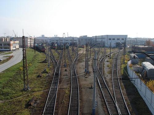 Локомотивное депо ©  ayampolsky