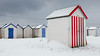 28A (Picture South West) Tags: torbay beach hut snow storm winter spring march stripes 28a beast from east fujifilm x30