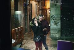 A winter romance (Raúl Villalón) Tags: matasiete street barriohumedo snow winter photo photography couple leon spain alley night snowing man woman oldtown sonyrx100v raulvillalon