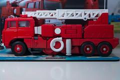 DSC_8040 (Quantum Stalker) Tags: takara tomy hasbro transformers masterpiece g1 inferno firetruck fuso t951 extinguisher communicator elegant hose animation cartoon chromed