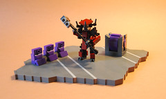 Brute Chieftain (iTomWalker) Tags: lego halo brute chieftain moc afol gravity hammer