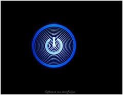 the blues (Hetwie) Tags: theblues blue macromaandag powerknop powerbutton knop button macromondays blauw light macrounlimited