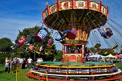 Pulborough Harvest Festival 2017 (James Raynard) Tags: pulborough harvest festival fair fete nikon d08 wideangle outdoor outdoors westsussex sussex funfair vintage oldetime merrygoround swings family