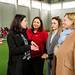 Karin Kneissl besucht das ADA-Projekt