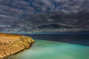 Eagle Bluff cloudscape (snowyturner) Tags: cliffs sharks sea coast headland clouds front colours westernaustralia naturists altostratus bay 1855mm calm