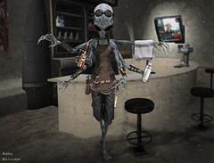 Bosa Sese , Bartender of Caprica *NPC character* (_Adra Braeden_ *Client List CLOSED*) Tags: novabraeden bosasese alien bartender starwars sciencefiction fantasy
