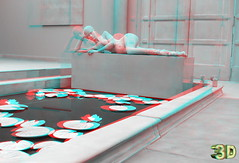 Collectors House 3D (lambo_photo) Tags: museum kunstpalast art 3d fuji van op de beek anaglyph
