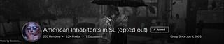 Header! American Inhabitants in SL