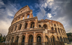 Rome, Italy 007 - Colosseum (Sony A6000, Canon 10-18 www.facebook.com/ipmaesstrophotography) (IVAN MAESSTRO) Tags: colosseum roma italy architecture old abandoned fight duel gladiator hdr sky canon sony ipmaesstro